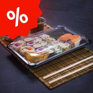 Акция на контейнеры для суши