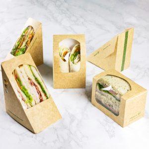 Акция на упаковку для сэндвичей, роллов, выпечки